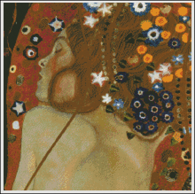 Sea Serpens II G. Klimt