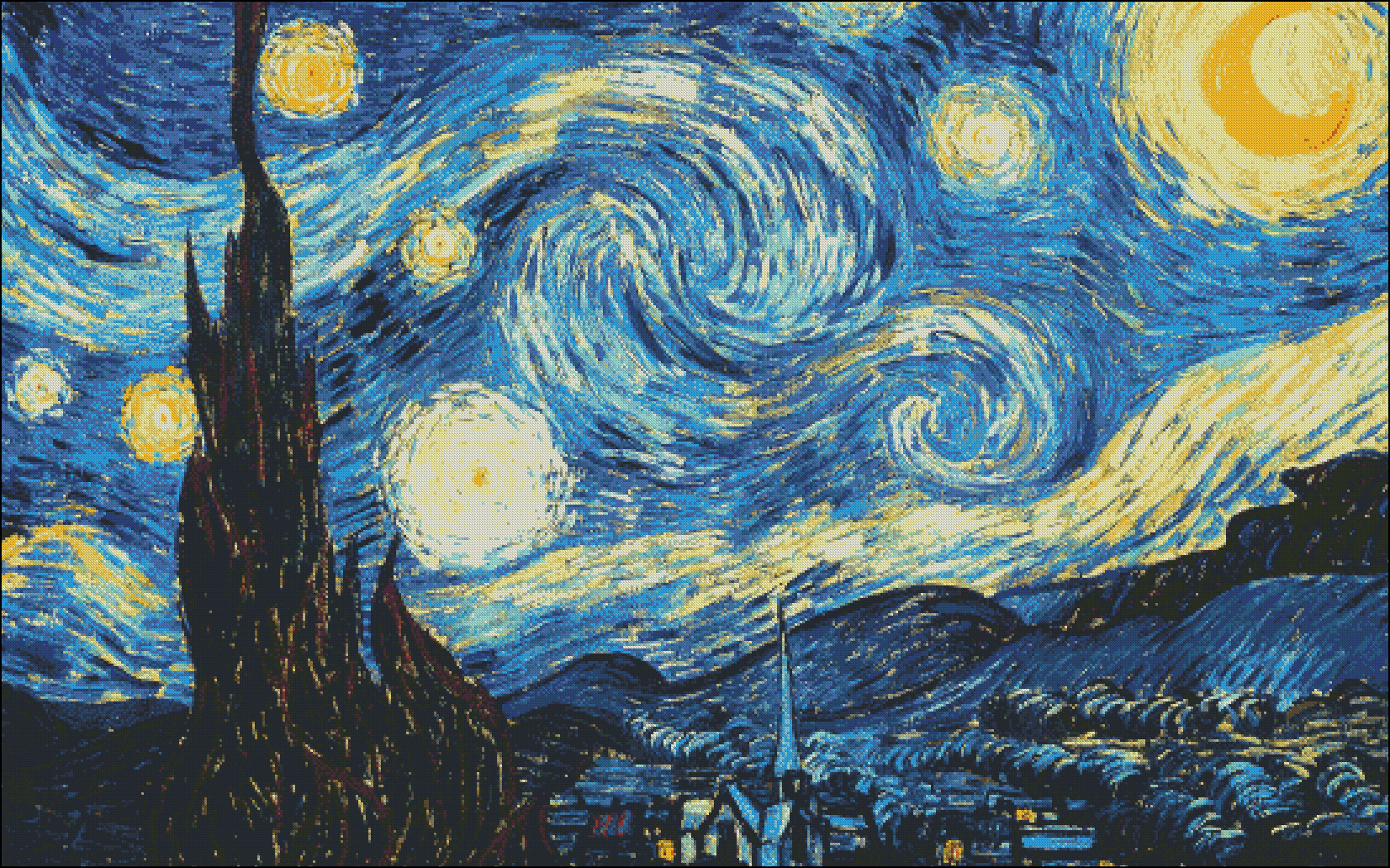 Starry Night Med. Extra