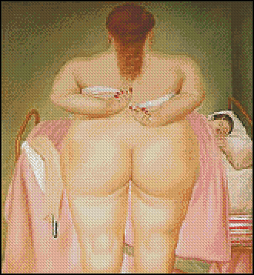 The morning after - F. Botero