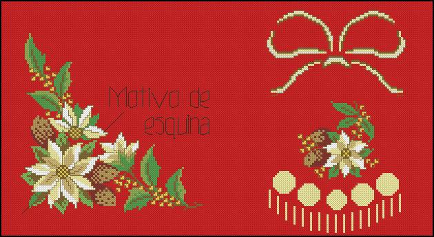 1000 images about manteles navidad on pinterest mantels - Manteles para navidad ...