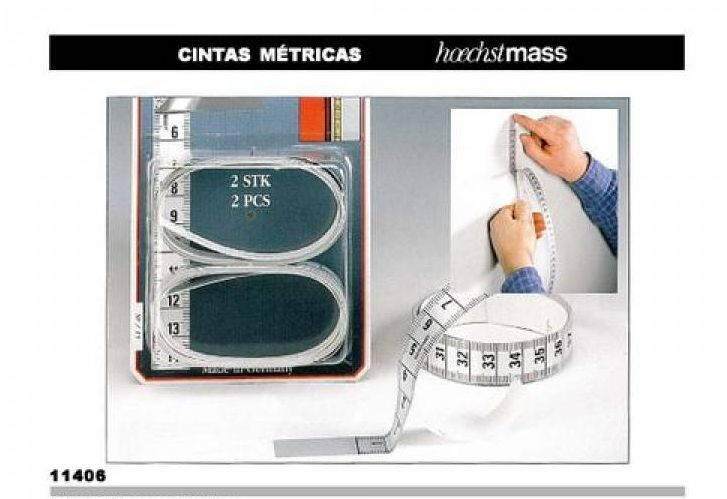 Self adhesive tape measure - 2 unit