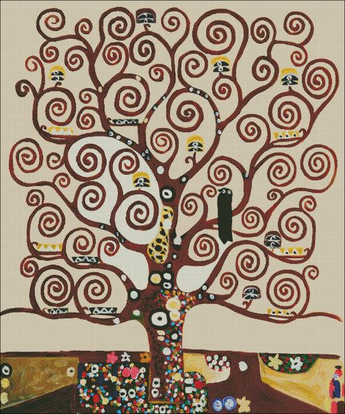 Дерево жизни роспись